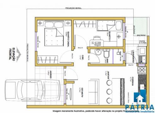 Casa Em Condomínio No Jardim Paraíso!!!