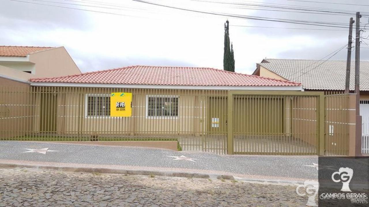 Casa No Jardim Carvalho Próximo Ao Supermercado Tozzeto.