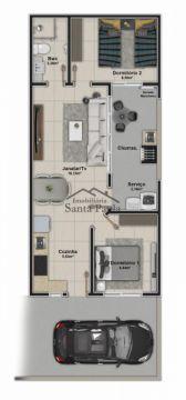 Excelentes Casas Em Oficinas Com Solário