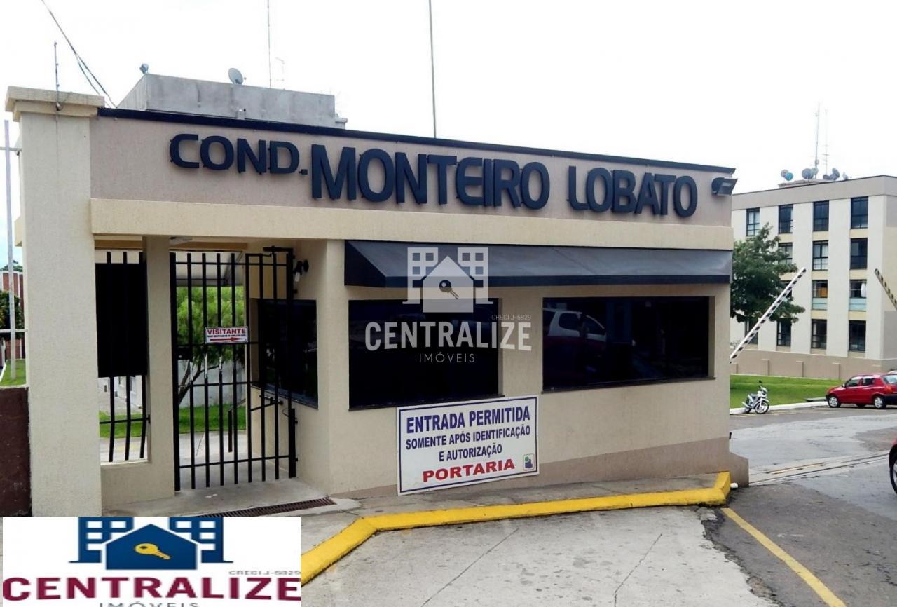 Apartamento Para Venda-  Condomínio Monteiro Lobato