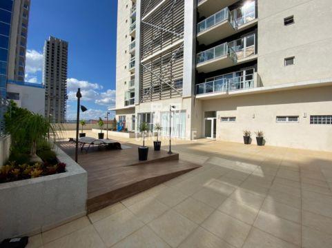 Apartamento Para Locação-edifício Platinum Design Residence.
