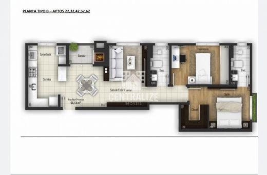 <strong>Apartamento para venda- Edifício Le Raffine.</strong>