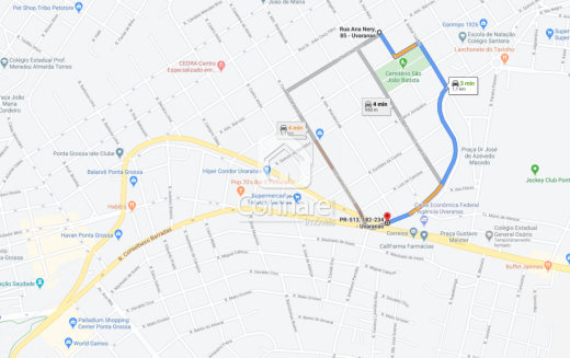 <strong>Terreno de esquina com a Rua Almirante Barroso</strong>