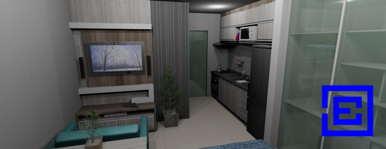 Kitnet Em Construção Próxima Ao Shopping Palladium