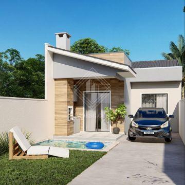 <strong>Casa 2 quartos com piscina e área Gourmet</strong>