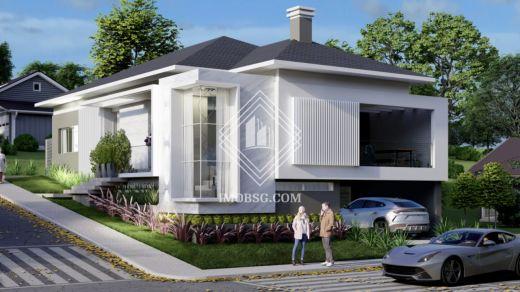 <strong>Casa em condomínio Arquitetura diferenciada</strong>