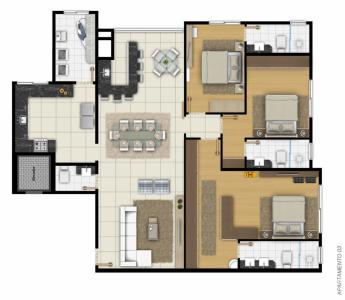 Apartamento - Edifício Gran Torino