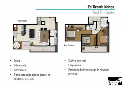 Edifício Grande Maison - Apto Duplex