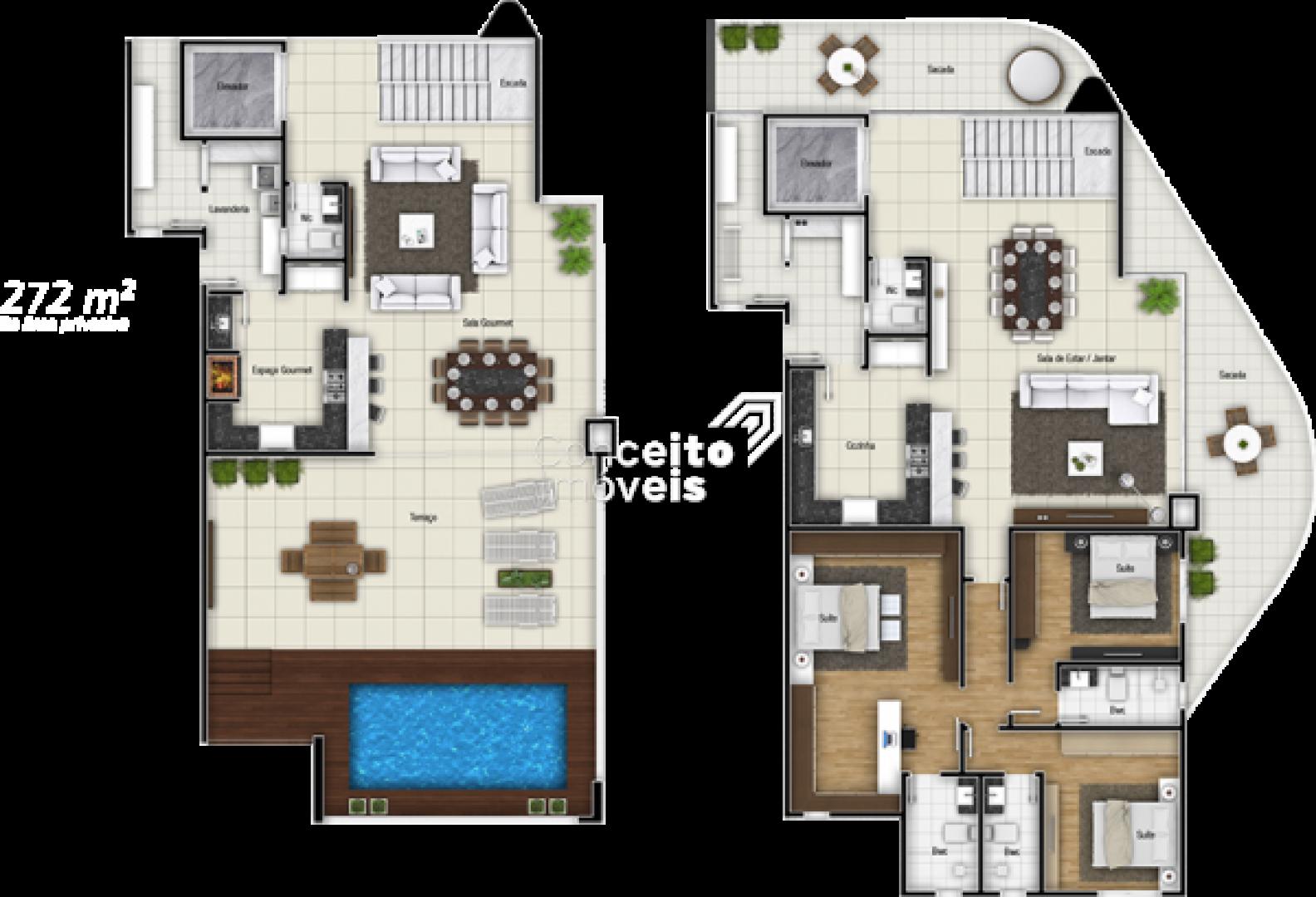 Edifício Vivere Space Home