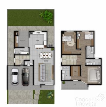 <strong>Condominio Paysagem Doman- Casa com 3 quartos</strong>