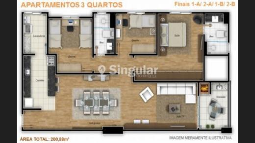 Edifício Rembrandt - 03 Quartos - Centro
